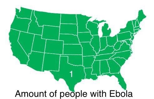 amount of people with ebola