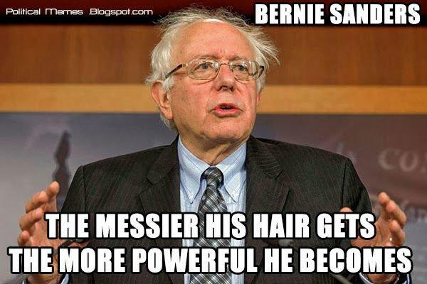 bernie sanders hair meme