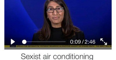Sexist air conditioning – meme