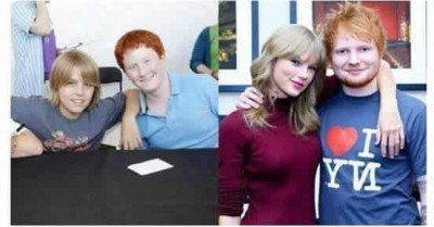 Taylor Swift and Ed Sheeran best friends forever