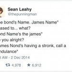 The Bond's Name James Name