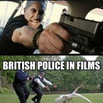 British Vs American Police In Films…