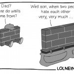 Dad Where Do Walls Come From? – Comic