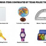 Dangerous Items Confiscated By Texas Police This Year