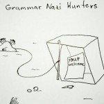 Grammar Nazi Hunters – Comic