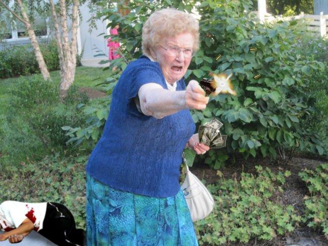 grandma-with-a-gun-photoshop-battle-10