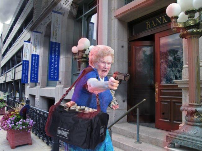 grandma-with-a-gun-photoshop-battle-14