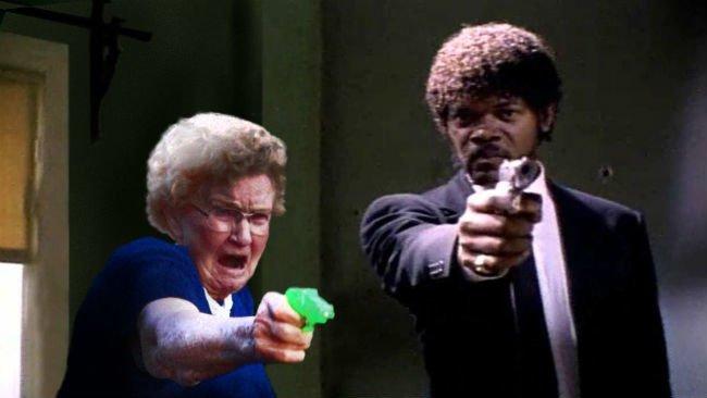 grandma-with-a-gun-photoshop-battle-6