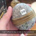 I Can't Afford To Buy A Rock In The Hamptons