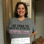 I Do Yoga To Relieve Stress Mom Shirt