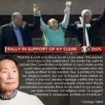 Kim Davis Is No Hero – George Takei
