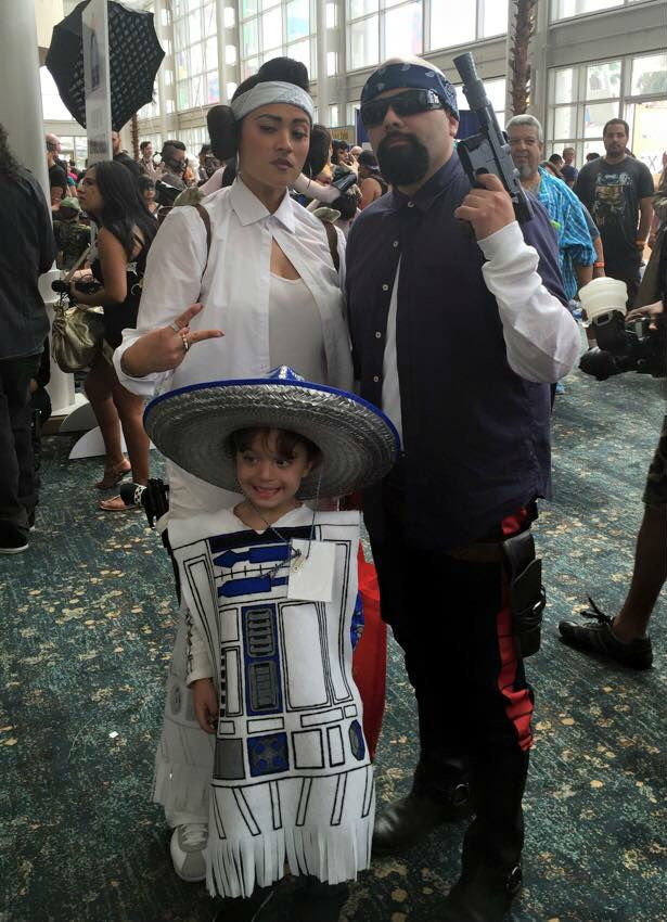 mexican star wars cosplay