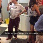 Senior Vs Freshman Girls At Frat Parties