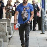 Shia Labeouf Wearing Do It Shirt