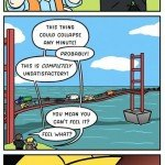 Suspension Bridge – Comic