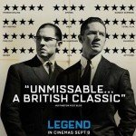 Tom Hardy's Legend Puts 2 Star Review On Movie Poster