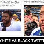 White Vs Black Twitter – 21 Pics