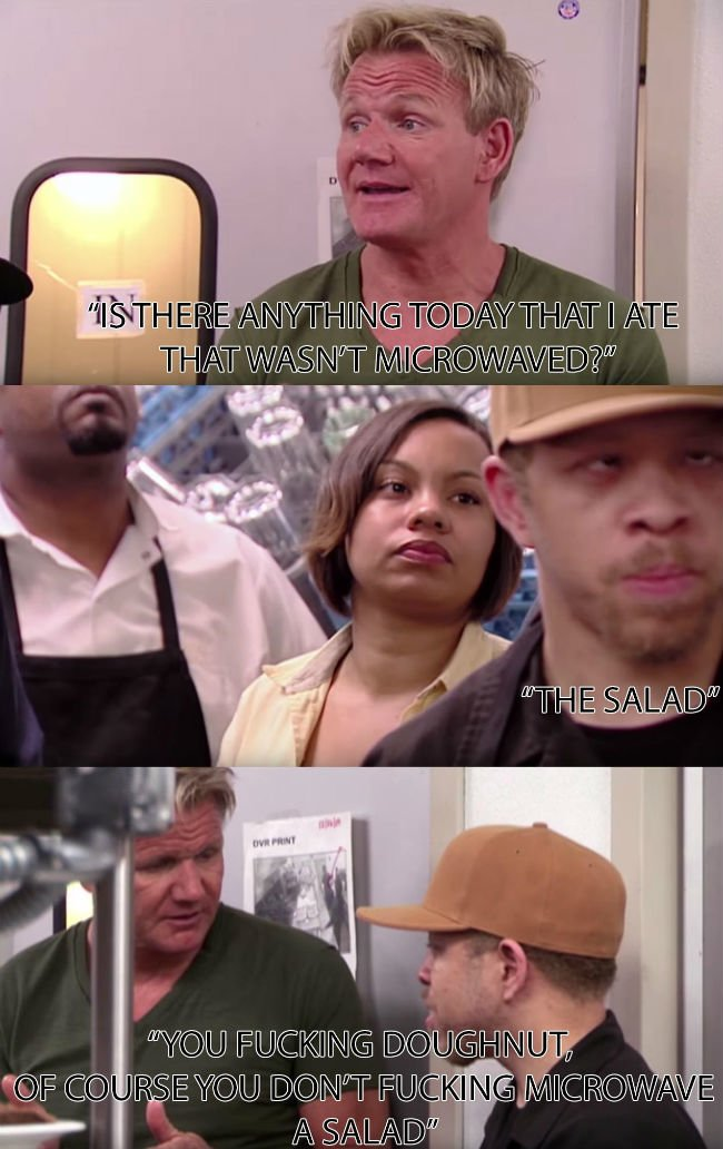 you fucking donut gordon ramsay