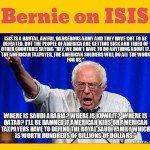 Bernie On ISIS