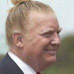 Donald Trump Man Bun