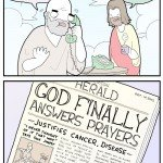 God Finally Answers Prayers – Comic