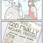 God Finally Answers Prayers – Comic
