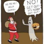 It's October Get Out – Comic