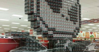 Jack Skellington coke display