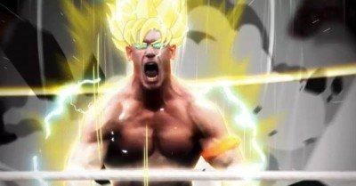 John Cena Super Saiyan – gif
