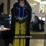 Jon Snow White Halloween Costume
