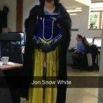 Jon Snow White Halloween Costume