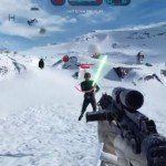 Luke Skywalker Crushed By AT-AT – Star Wars Battlefront Gif