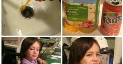 Me as a parent  apple juice edition
