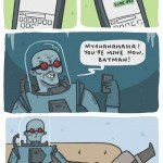 Mr Freeze Netflix And Chill – Comic