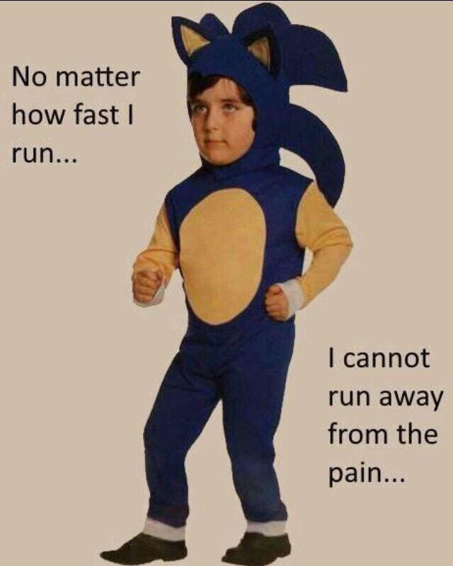 no-matter-how-fast-i-run-i-cannot-run-away-from-the-pain-sonic-costume