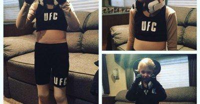 Ronda Rousey kid's costume