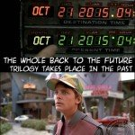 The Whole Back To The Future Trilogy Takes Place In The Past…