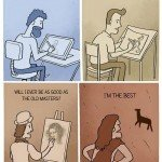 Will I Ever Be As Good As The Old Masters – Comic