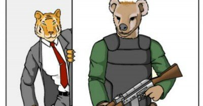 Animal Guards – comic