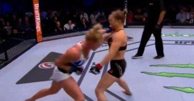 Ronda Rousey knockout gif
