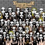Find The Panda Metal Edition
