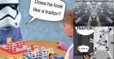 30 Best TR-8R Traitor Stormtrooper Memes Gifs and Comics