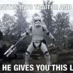 20 Minutes Into Traitor And Chill – Meme