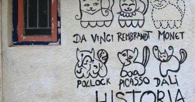 Historia Da Arte Cat Graffiti
