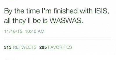 Linda ISIS tweet