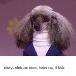 Sheryl Christian Mom Hates Rap 5 Kids