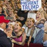 Trump Rally Crazy Lady Faceswap Meme