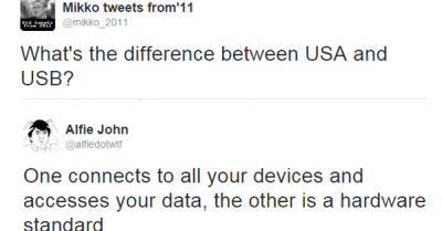 What's the difference between USA and USB?