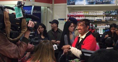 The winning Powerball 7-11 Owner from Chino Hills, Ca