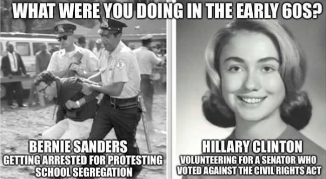 bernie-vs-hillary-civil-rights-meme
